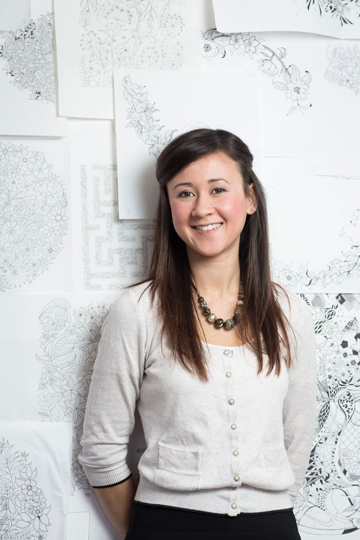 Q A With Illustrator Johanna Basford