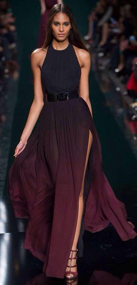 ca0e58fd8fbf Burgundy & black dress | Dress Pink & Purple in 2019 | Dresses ...