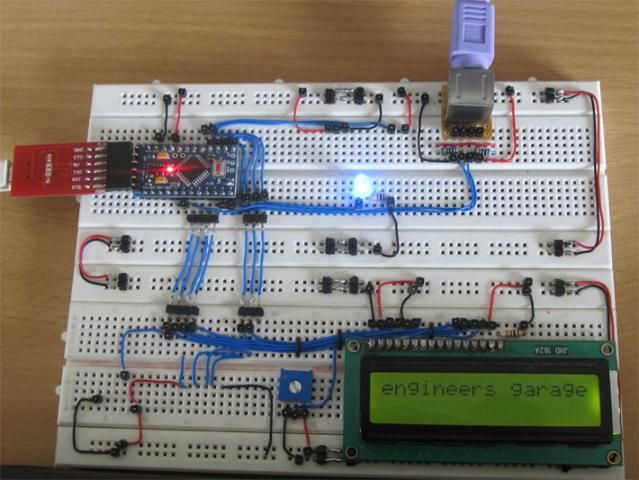 How To Connect a Keyboard With The 16x2 LCD Using Arduino