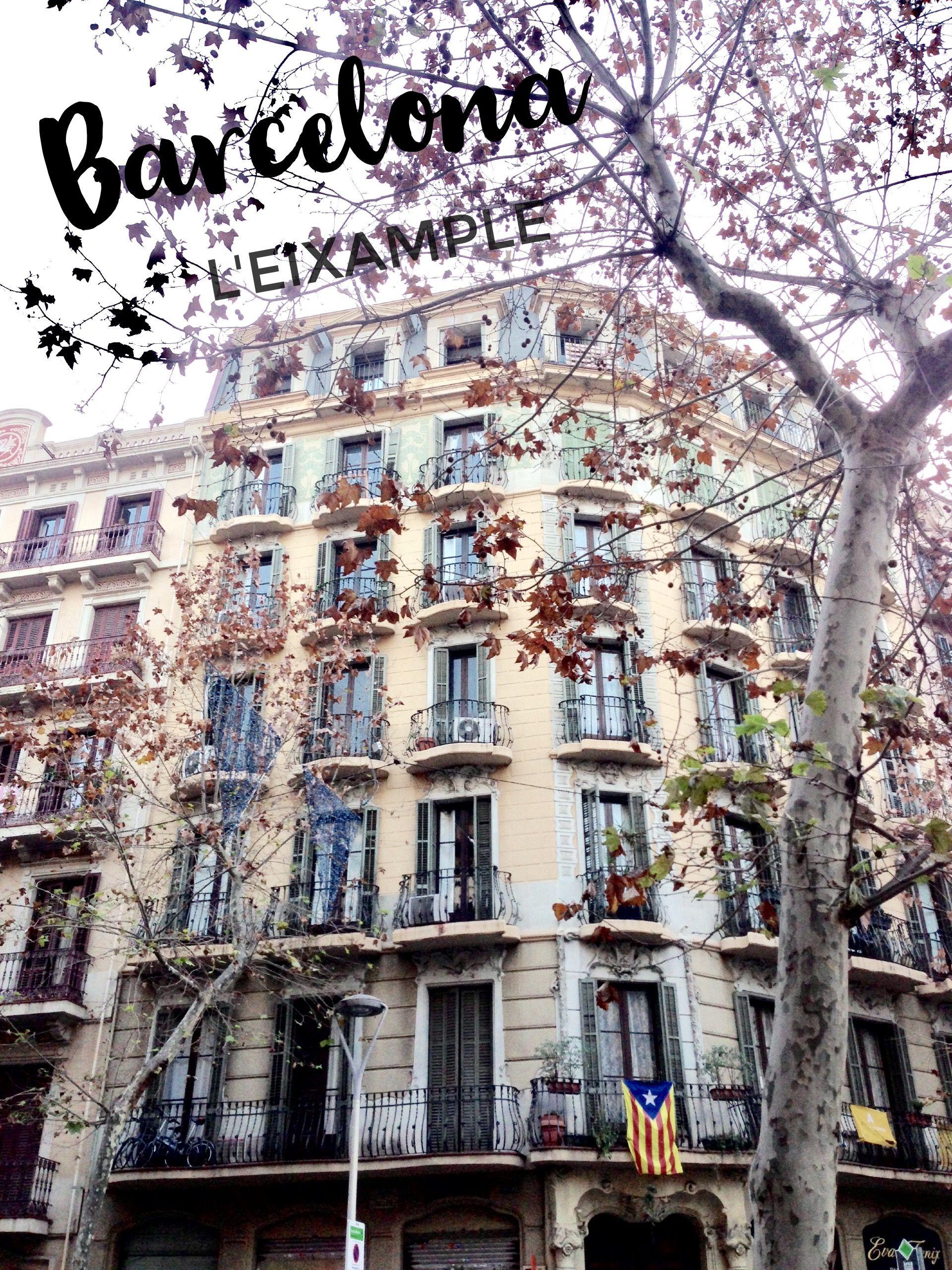 Barcelona balconies, Catalan modernist architecture, L\'Eixample ...