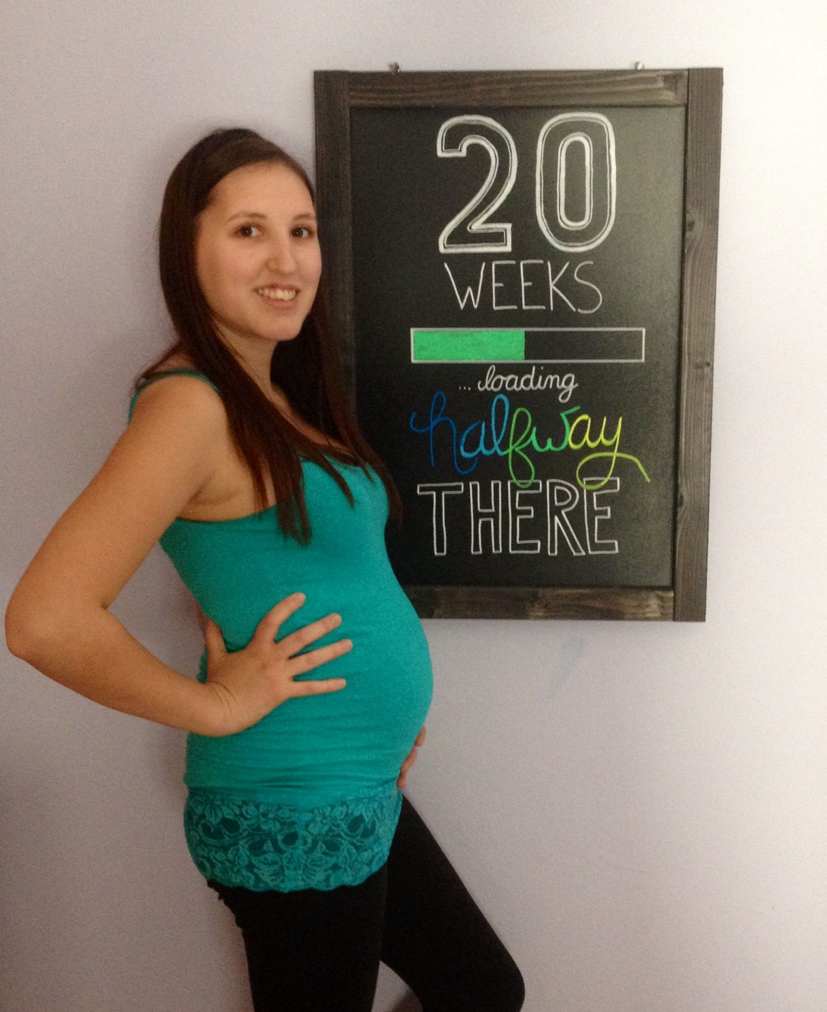 Picture of 3 weeks pregnant woman 20