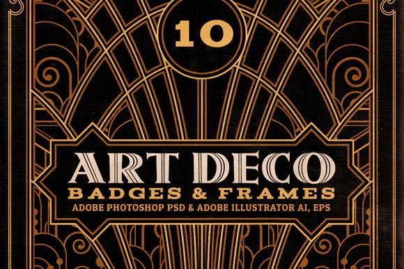 ArtDeco Badges & F...
