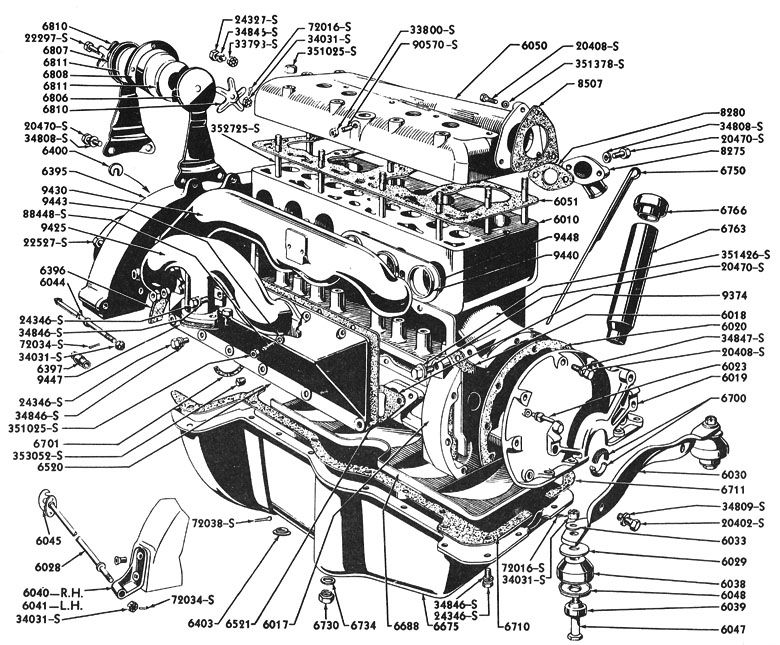 Ford 1932 Engine