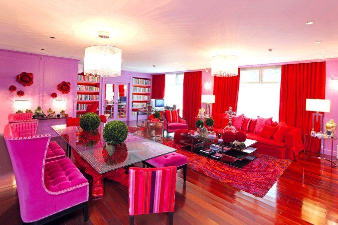 Colorful Eclectic Style reigns in Kris Aquino\'s Condo | Makati ...