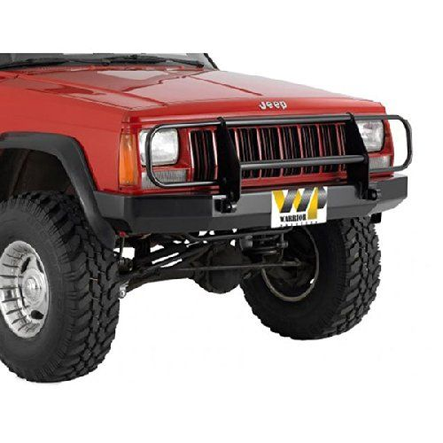 Warrior Products Front Contour Bumper With Brush Guard And D Rings