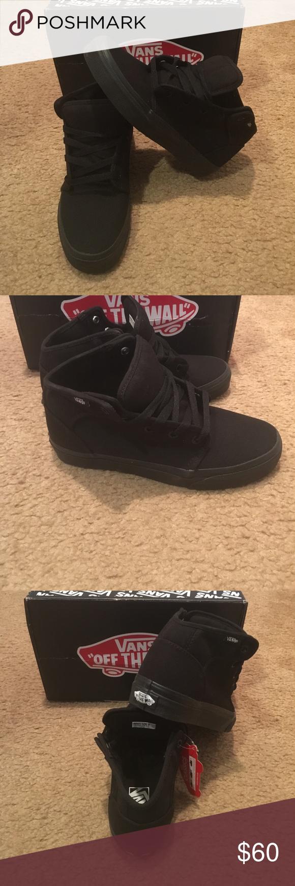 e1c5b19b6611 Vans 106 Mid New in box. Black Vans Shoes Sneakers