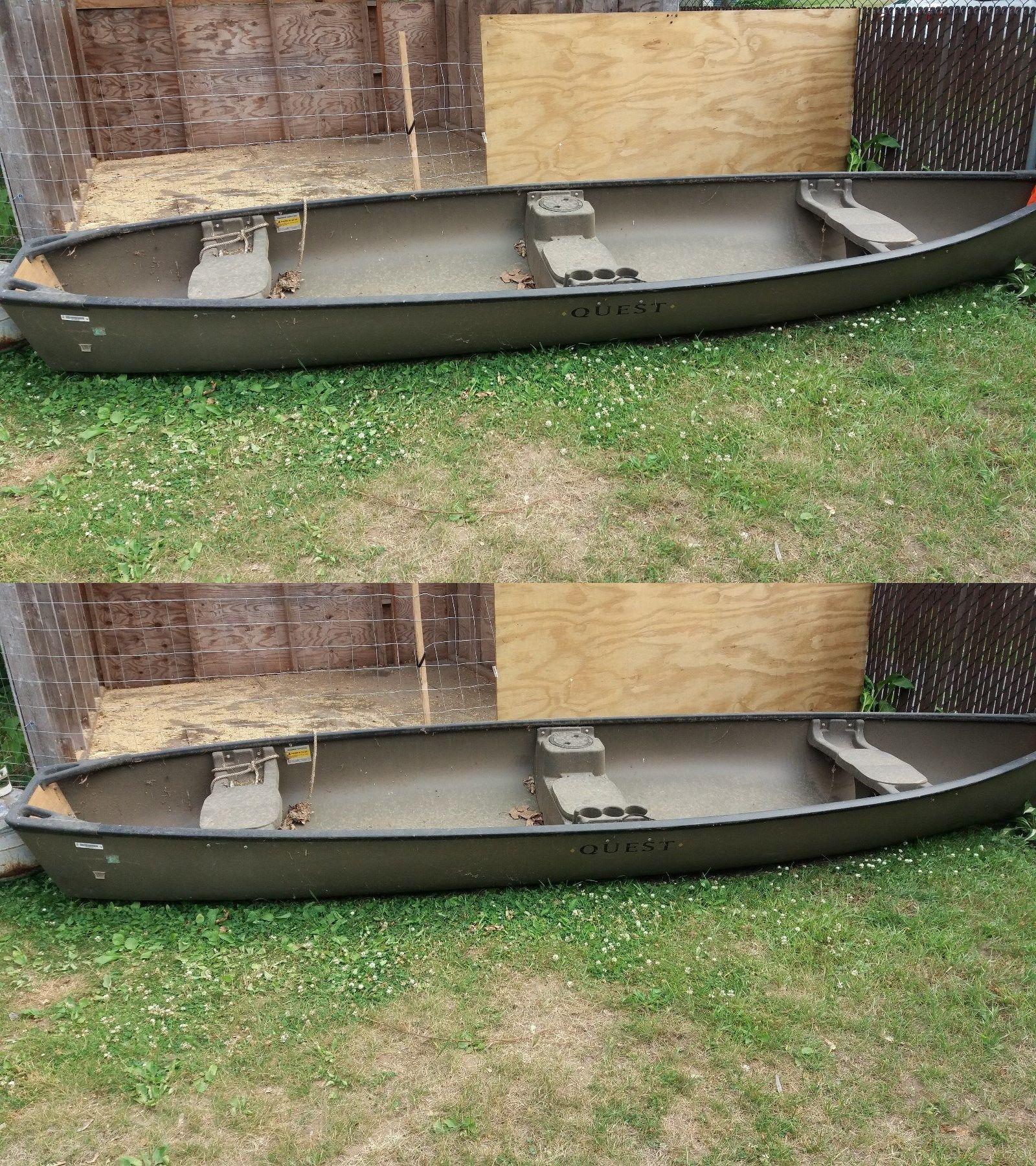 Canoes 23800: Flatback Quest Canoe, New Never Used, !5
