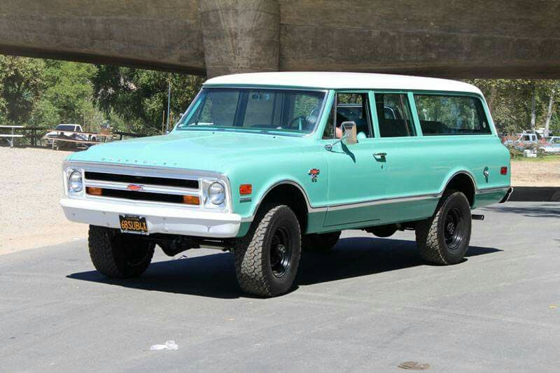 1968 Chevrolet K20 Suburban