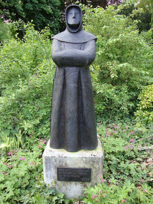 Alverna, beeld van Eric van Lindert, oprichter van Franciscanenklooster La Verna.