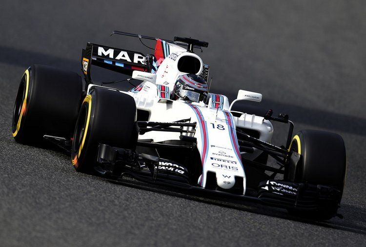 Lance Stroll, Williams FW40-Mercedes 2017