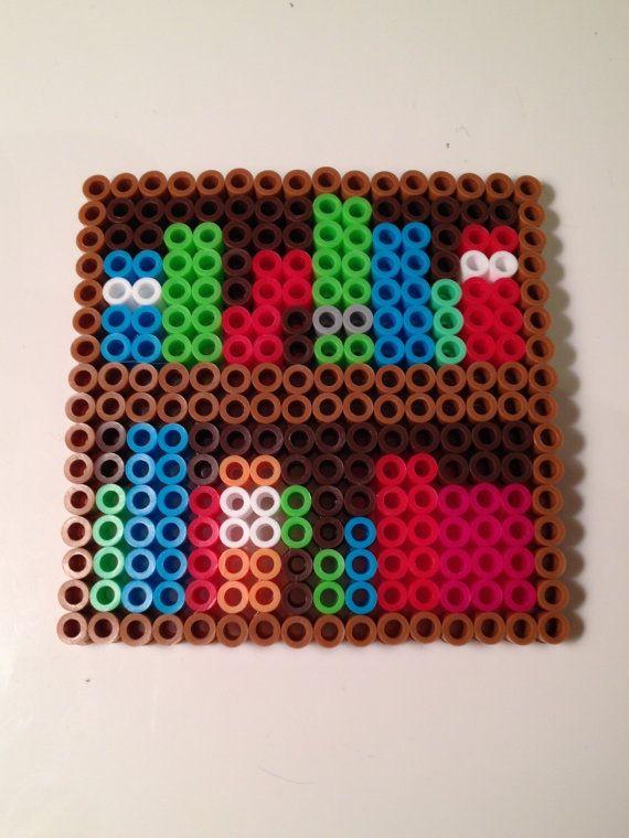 Minecraft Bookcase Block Perler Bead By NerdChristmas On Etsy 500