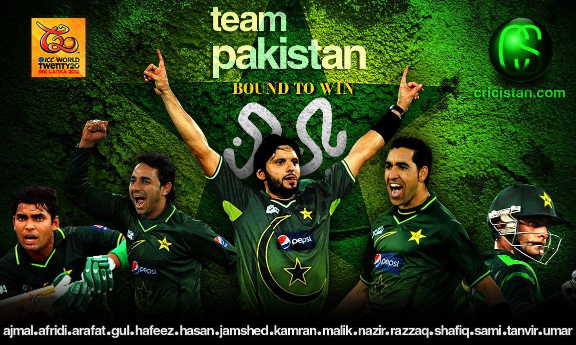 Pakistan Cricket Team Wallpaper 2012 T20 World Cup By Uzzie01 On