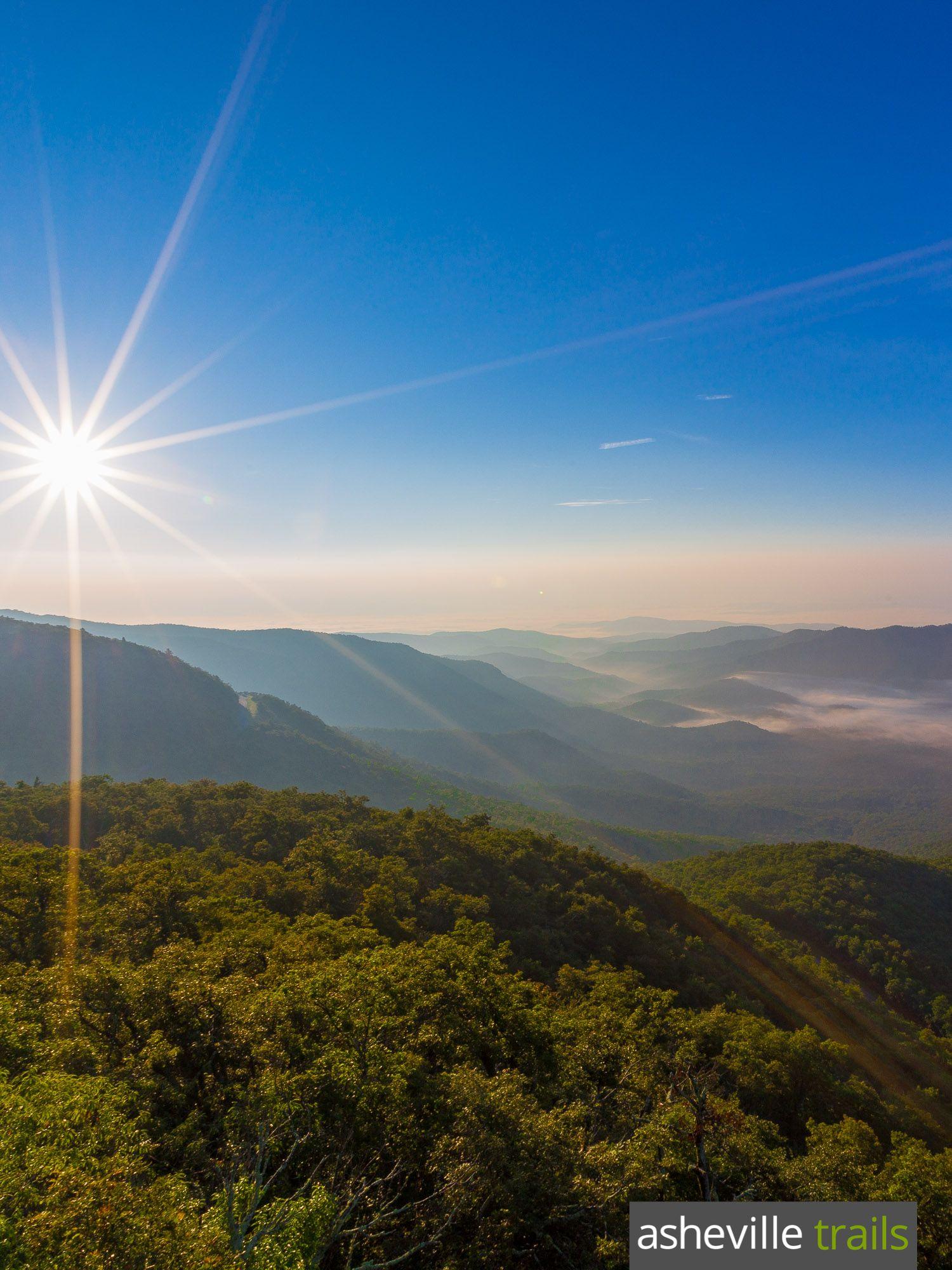 Fryingpan Mountain Tower Trail On The Blue Ridge Parkway Great Smoky National Park Blue Ridge Parkway Blue Ridge