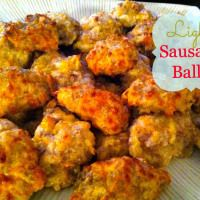 Light Sausage Balls