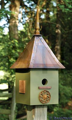 Only Got Half The Birdhouse Very Cute Olive Green W