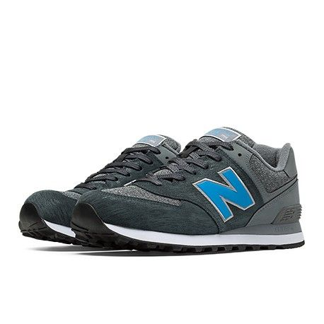 Shoes Outlet - New Balance 574 Lifestyle Burgundy Mens Trainers