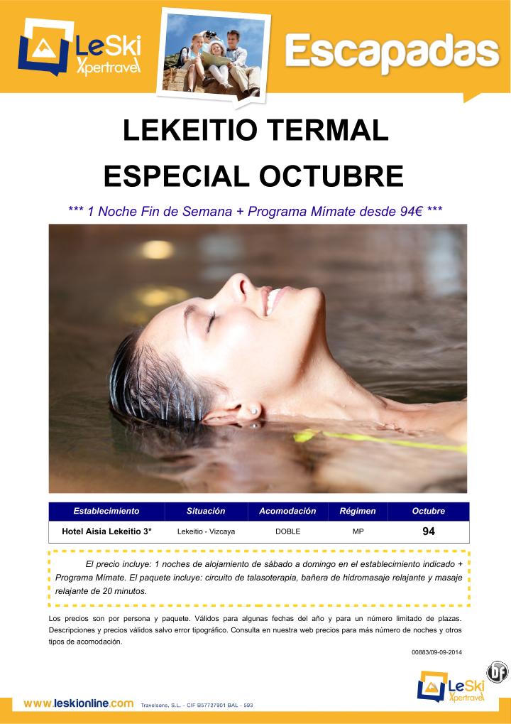 Esc Termal en Lekeitio (Vizcaya): 1 Noche Fin de Semana Oct + Programa Mímate desde 94€ ultimo minuto - http://zocotours.com/esc-termal-en-lekeitio-vizcaya-1-noche-fin-de-semana-oct-programa-mimate-desde-94e-ultimo-minuto/
