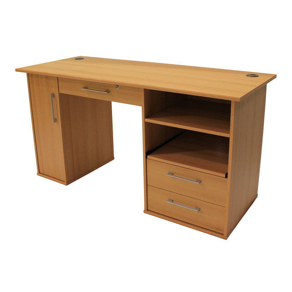 Pioneer Desk 1450mm Beech