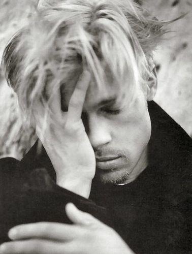 Brad Pitt by Lizzie Bell, via Flickr