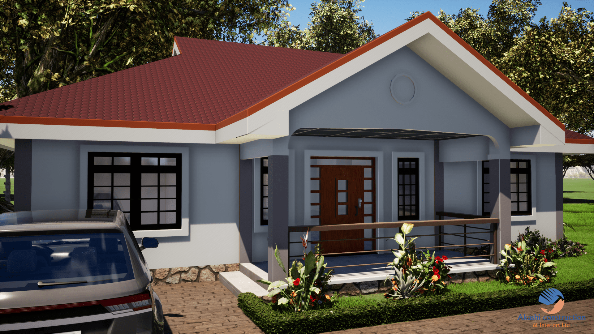 3 Bedroom House Plan With Master Ensuite Bedroom House Plans Architectural House Plans Small Cottage House Plans