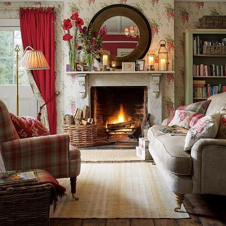 Laura Ashley On Twitter Country Living Room Design Country Living Room Cottage Living Rooms Country cottage living room decor