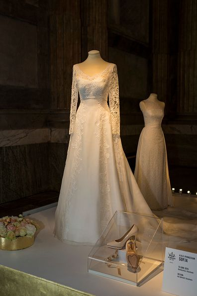 Browse Swedish Royal Wedding Dresses Exhibition At Palace Latest Photos View Images And Find Out More About