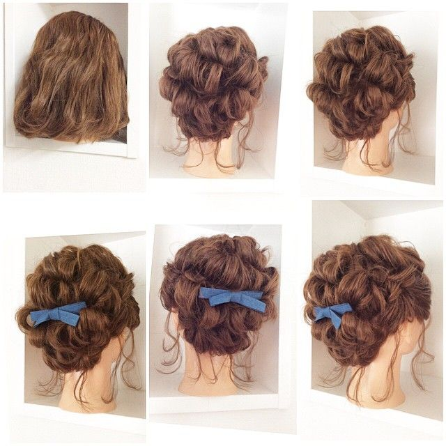 Bridal Hairstyle おしゃれまとめの人気アイデア Pinterest Qingru アップヘア 簡単 ヘアアレンジ ヘアアレンジ