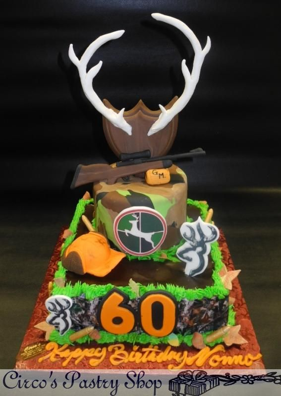 Hunting Birthday Cake Google Search Hunting Theme