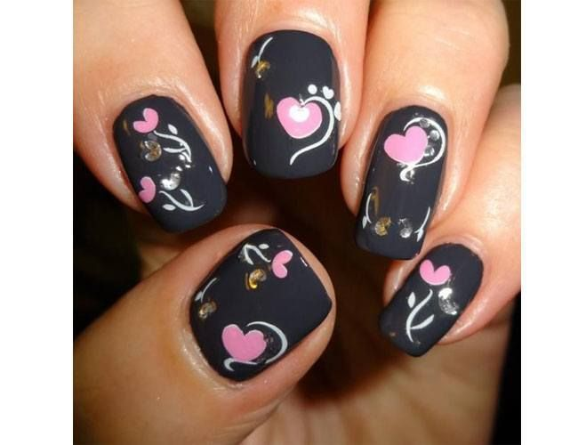 Valentine's Day Art Work | The Season of Love: Valentine's Day Nail Art Designs