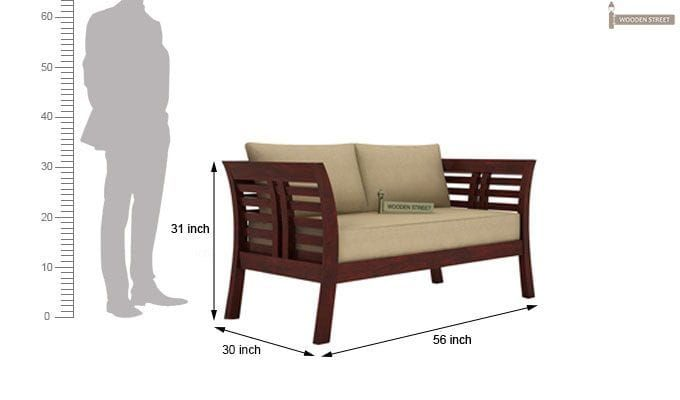 Darwin seater wooden sofa mahogany finish designs also best images home decor house decorations living room rh uk pinterest