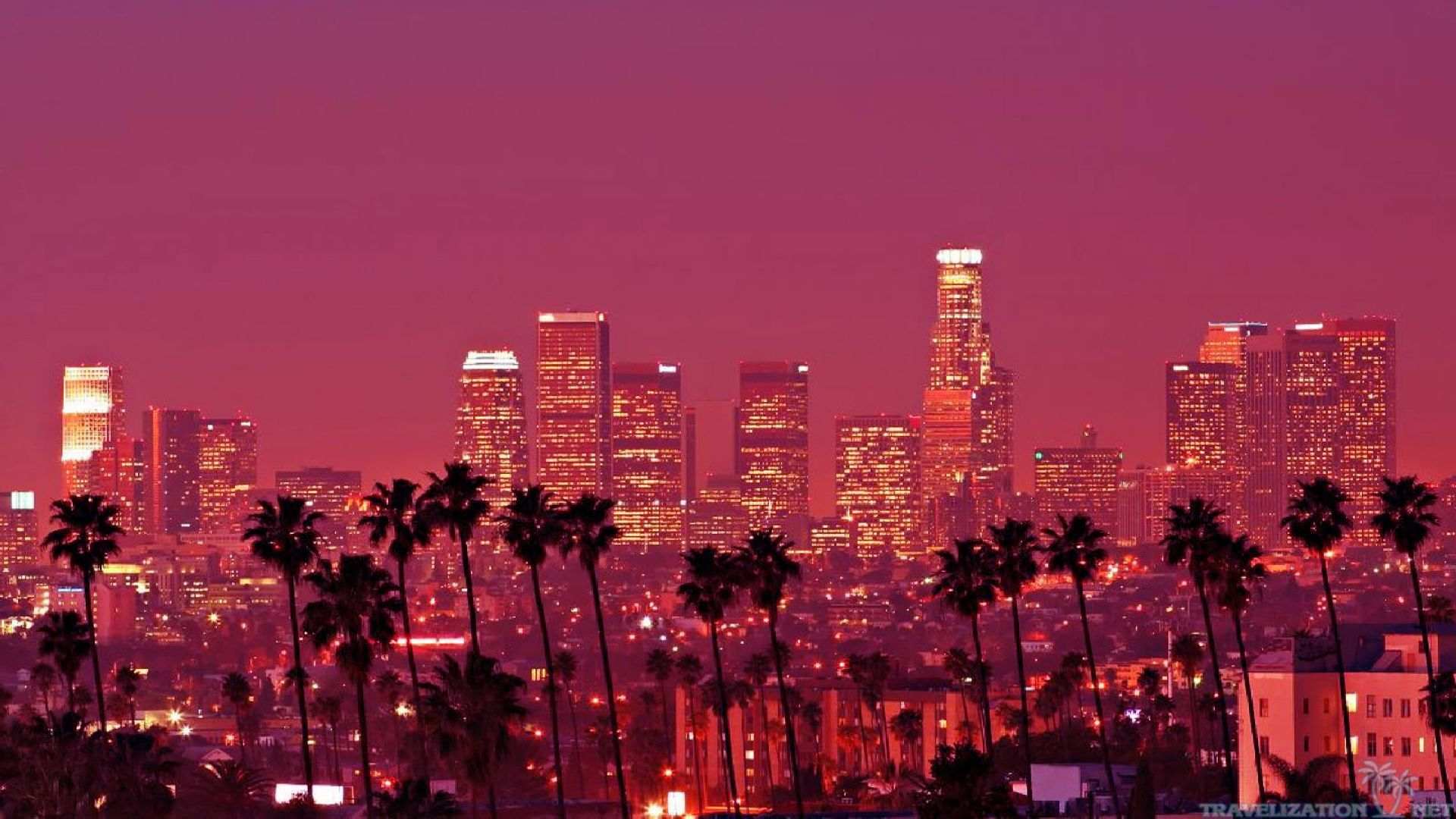 Los Angeles HD Wallpapers Backgrounds Wallpaper 1680×1050