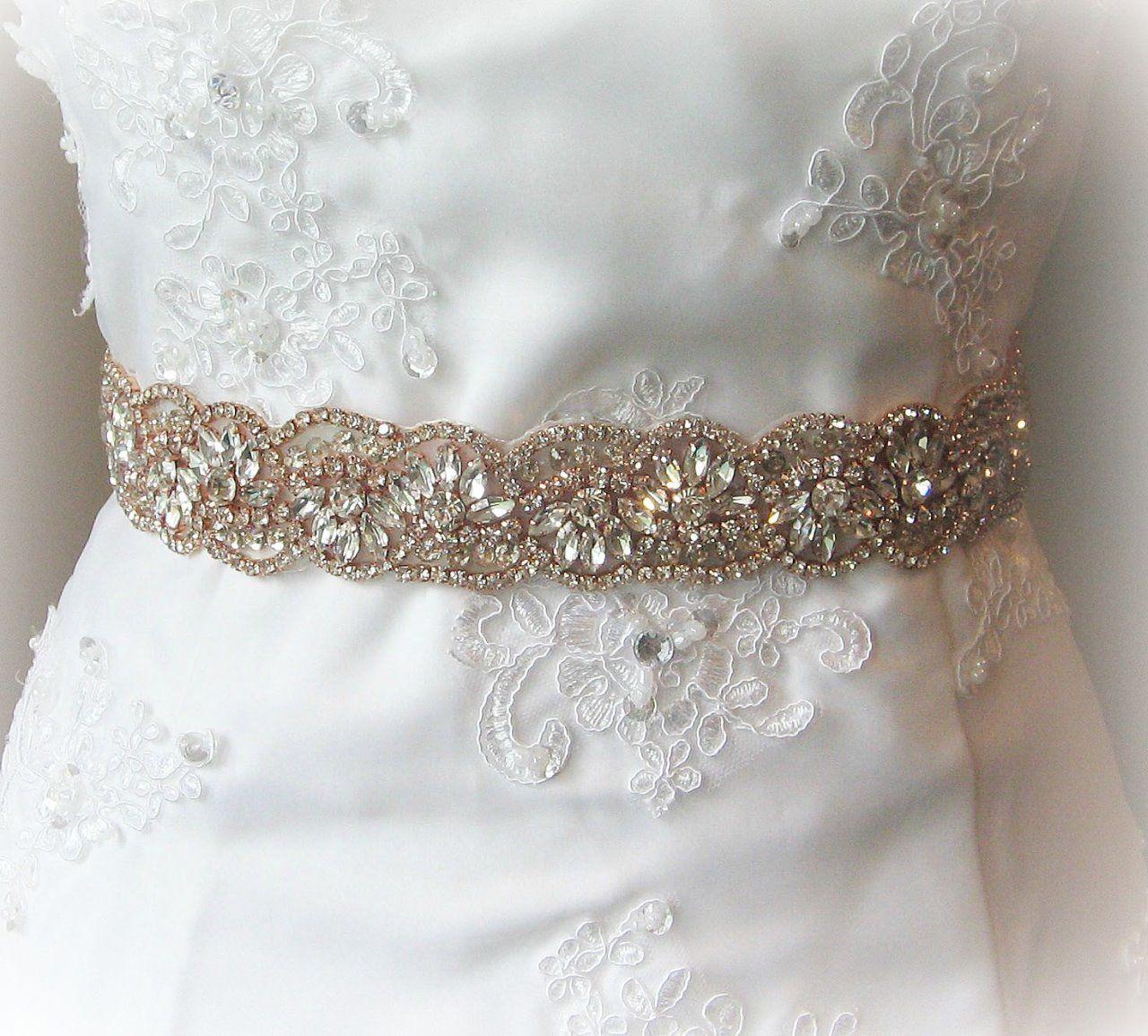 Cinturón de pedrería :: Virtual Novia Book | Cinturones de novia con ...