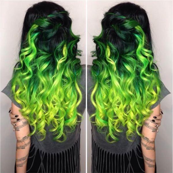 71 Grune Haare Farben Ideen Die Sie Lieben Werden Grune Haare