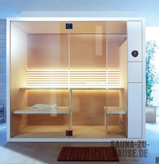 Eine Sauna, die muss funktional sein Aber auch stylish Deshalb