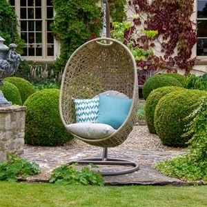 Bramblecrest Cotswold Single Cocoon Garden Swing Chair
