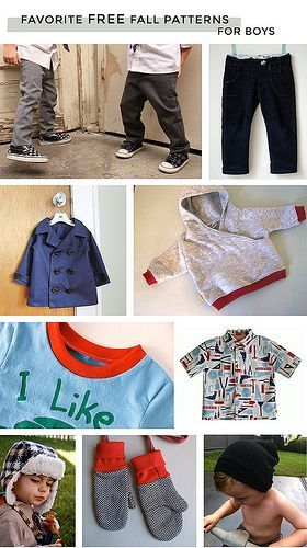 Free Sewing Patterns For Little Boy Clothes Sewing Pinterest