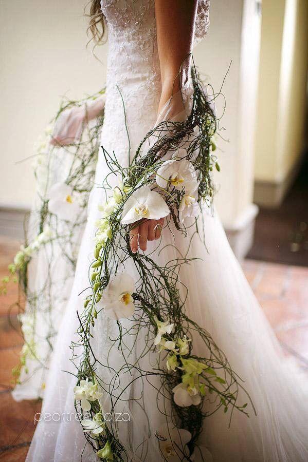 Wedding Unique Een Guirlande Als Soort Van Linten In Tule Verwerkt