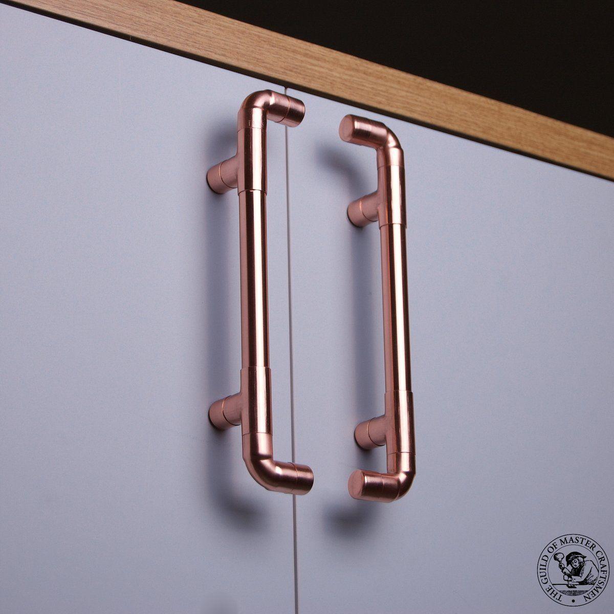 Copper Cupboard Door Handles In 2020 Door Handles Copper Handles Kitchen Door Handles