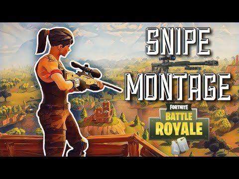 insane sniper montage fortnite battle royale - sniping montage fortnite