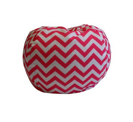 Amazon.com: Newco Kids Chevron Bean Bag, Candy Pink: Baby