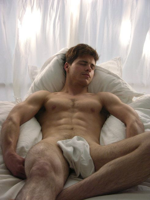 Matthieu Charneau Nude In Bed