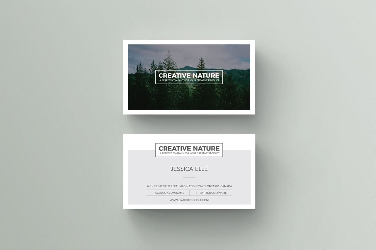 Creative nature artists business card design template 1 business creative nature artists business card design template 1 reheart