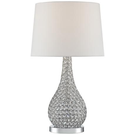 Possini Euro Kasey Beaded Gourd Table Lamp 7j491 Lamps Plus