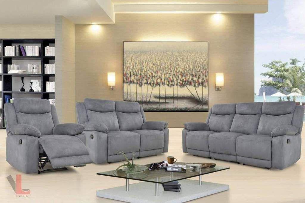 Cheap Recliner Sofa Set For Sale