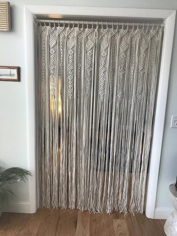 Macrame Panel Curtains
