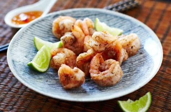 Chilli Salt Prawns A simple and easy #appetizer. #recipe