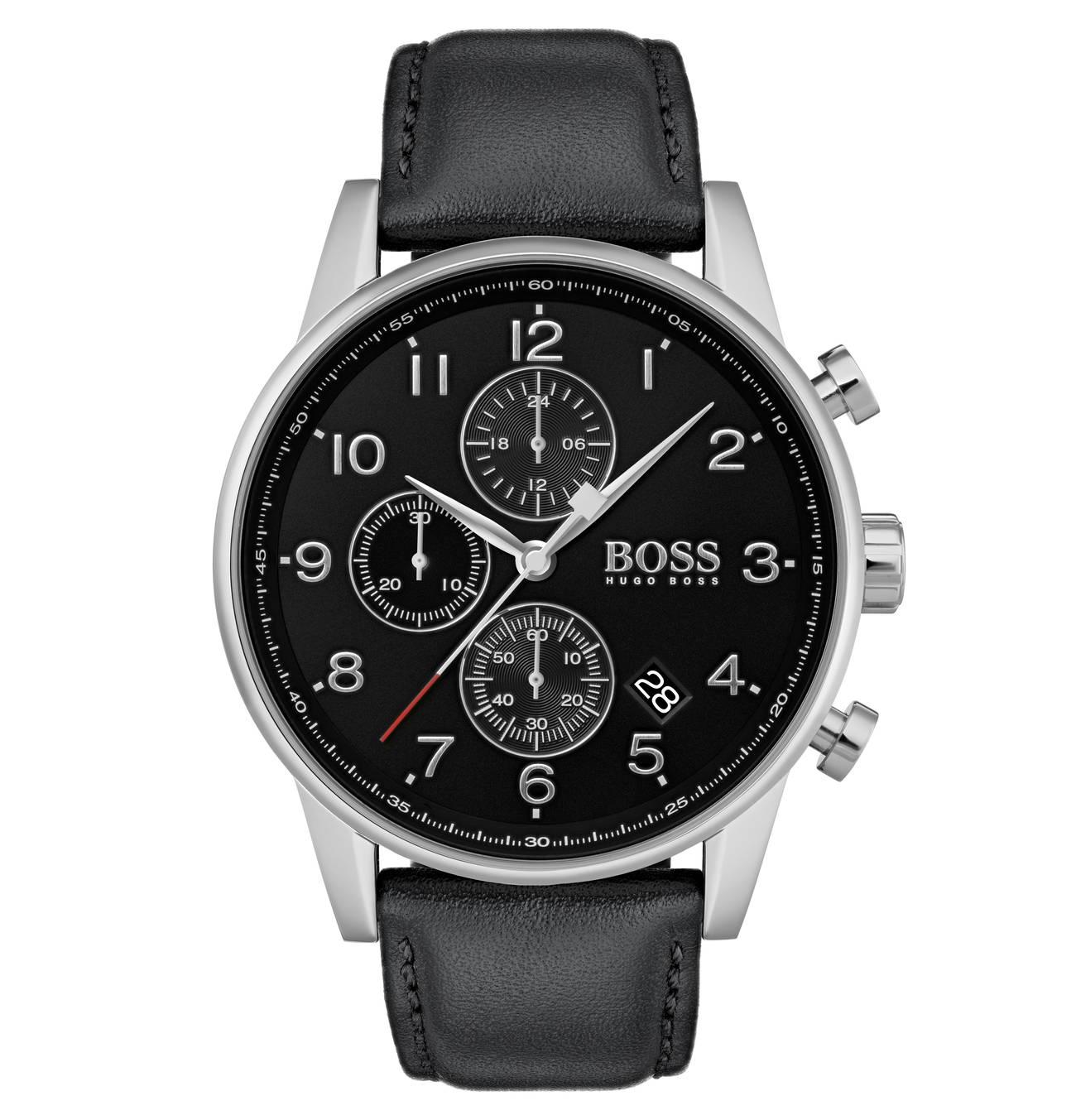 Herrenuhr Navigator 1513678 Chronograph Boss Uhren Herren Chronograph Und Uhren Herren