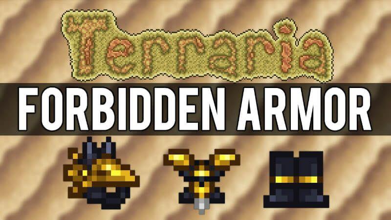 Forbidden Armor Guide Terraria Armor Guide Terraria Terrarium