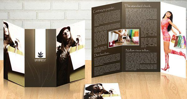 Free Brochure Templates For Download  Free And Fashion