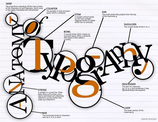 https://www.behance.net/gallery/7134245/The-Anatomy-of-Typography ...